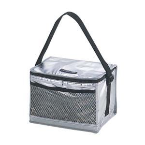 クーラーバッグ 保冷バッグ クーラーボックス アルミ ソフト ショルダー 6L|kanaemina