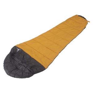 寝袋 シュラフ シェラフ マミー型 収納バッグ付き キャプテンスタッグ|kanaemina
