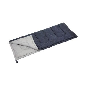 寝袋 シュラフ シェラフ 封筒型 ダークネイビー 収納バッグ付き キャプテンスタッグ|kanaemina