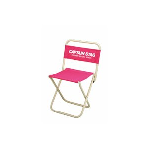レジャーチェア アウトドアチェアー 軽量 コンパクト 折りたたみ椅子 折り畳みイス ピンク|kanaemina