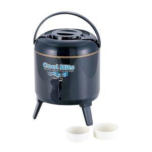 ウォータージャグ 水用タンク 6L 保温 保冷 飲料 ドリンクキーパー 麦茶 コック付き|kanaemina