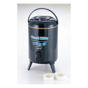 ウォータージャグ 水用タンク 10L 保温 保冷 飲料 ドリンクキーパー 麦茶 コック付き 大型 大容量|kanaemina