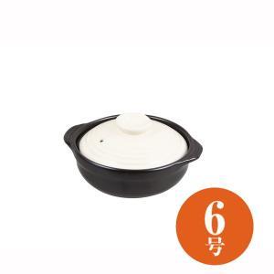 土鍋 6号 1人用〜2人用 直火 ガス火 IH調理器対応 陶器製 深型|kanaemina