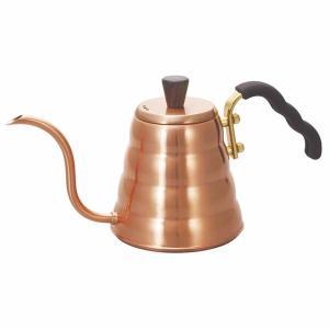 コーヒーポット 細口 ドリップケトル おしゃれ ハリオ V60 銅製|kanaemina