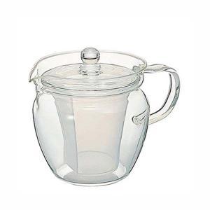ティーポット ティーサーバー ハリオ 耐熱ガラス 茶茶なつめ 360ml|kanaemina