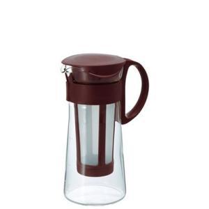 水出しコーヒーポット アイスコーヒー 器具 ポット ミニ 600ml ショコラブラウン|kanaemina
