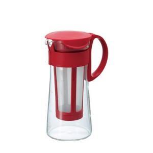 水出しコーヒーポット アイスコーヒー 器具 ポット ミニ 600ml レッド|kanaemina
