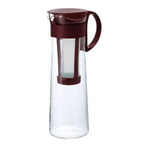 水出しコーヒーポット アイスコーヒー 器具 ポット 1000ml 1L ショコラブラウン|kanaemina