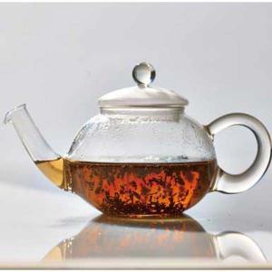 ジャンピングティーポット 耐熱ガラス製 紅茶ポット ハリオ ドナウ 800ml|kanaemina
