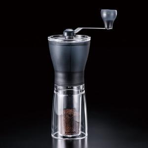 コーヒーミル 手挽き 手動 ハリオ セラミックスリム|kanaemina