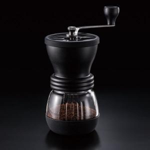 コーヒーミル 手挽き 手動 ハリオ セラミックスケルトン|kanaemina