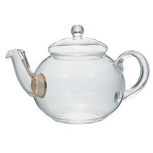 ジャンピングティーポット 耐熱ガラス製 茶漉し付き 紅茶ポット ハリオ 800ml|kanaemina