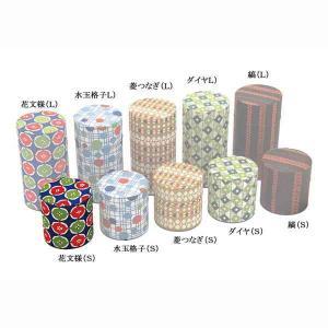 茶筒 お茶筒 茶葉 お茶の葉 保管容器 おしゃれ レトロ はいからさん 花文様 ブリキ/和紙 S 100g 日本製|kanaemina