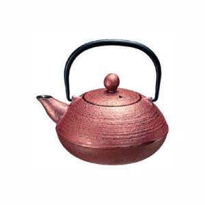 鉄瓶 急須 鉄びん やかん 茶器 直火 梨地/ライチ 0.5L|kanaemina