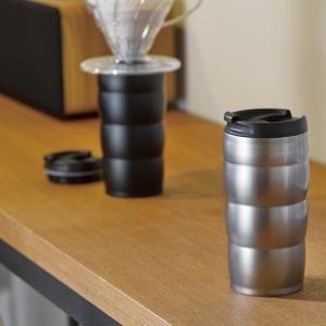 水筒 マグボトル 直飲み 保温 保冷 コーヒーサーバー ステンレス真空二重マグ|kanaemina