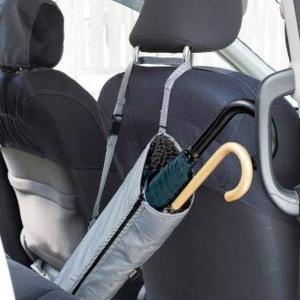 車載用傘ホルダー 傘入れ 傘立て アンブレラケース 車内用 車用 長傘2本用 抗菌防臭 畳める|kanaemina