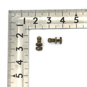 品名 : ギボシ(ネジ式) ミニ(5mm)  サイズ:ギボシ本体 全長(高さ):約6.5mm / 頭...