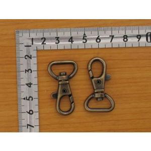 ナスカン 15mm アンティークゴールド 20個セット - メール便(ネコポス)OK|kanaguya3