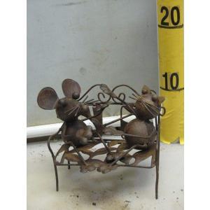 メタルオーメント キャット&マウス No.4141|kanaiengei