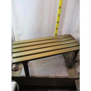 アルミ製 縁台 90cm|kanaiengei