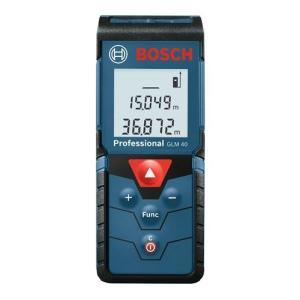 ボッシュ レーザー距離計 GLM40 最大測定距離40m プロスペック商品で最小・最軽量!|kanajin