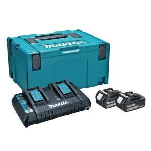 マキタ パワーソースキット1 A-61226 バッテリBL1860Bx2本+2口急速充電器DC18R...