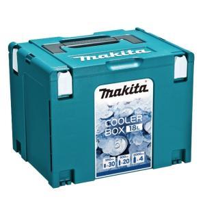 makita【マキタ】マックパック クーラーボックス 18L 寸法295×395×315mm A-6...