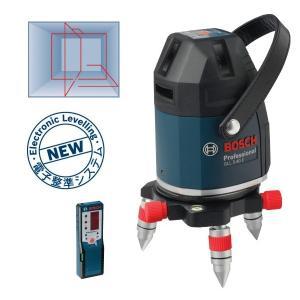 ボッシュ レーザー墨出し器 GLL5-40ESET 水平、垂直4ライン、鉛直、地墨 受光器・ケース・三脚付