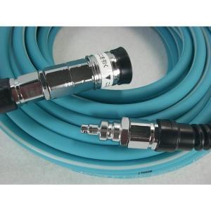 限定カラー マックス 高圧エアホース やわすべりホース ターコイズ 5mmx20m ZT91900 HH5020E1 MAX 高圧専用エア-ホース|kanajin
