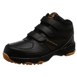 喜多 KITA 安全靴 セーフティーシューズ メガセーフティ つま先鋼先芯 MG-5640 BLK ブラック