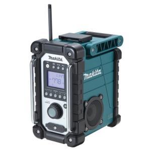 マキタ 充電式ラジオ MR102 MR102W 本体のみ 現場ラジオ登場 防水保護等級「IPX4」生活防水仕様 7.2V 9.6V 10.8V 12V 14.4V 18V 対応|kanajin
