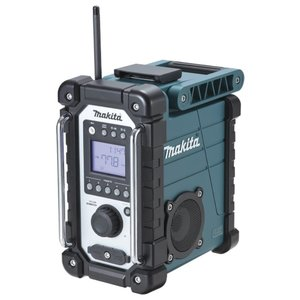 マキタ 充電式ラジオ MR107 本体のみ 7.2V 10.8V 14.4V 18V 対応 タフに 高音質を奏でる|kanajin