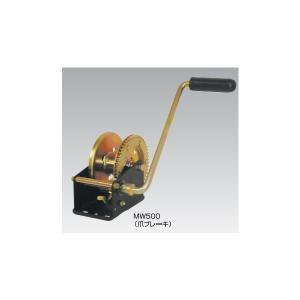 【スリーエッチ】ハンドウインチ 定格荷重500Kg MW500 H.H.H.|kanajin
