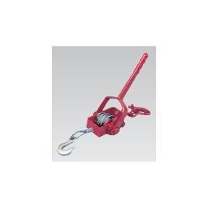 【スリーエッチ】ワイヤー荷締機 使用荷重500Kg 小型荷締機 NB-500 H.H.H.|kanajin