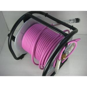 【当店オリジナル】マッハ 高圧ドラム PKD-530C 超ソフト高圧ホース付 ピンク|kanajin
