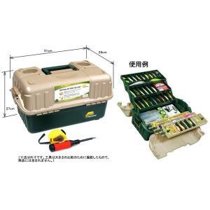 便利もん+ 861600 6段トレ-タックルボックス グリーン V086165 工具箱 BOX True Value トゥルーバリュー PLANO MOLDING CO プラノ|kanajin