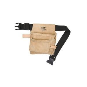 便利もん+ IPK489X 腰袋 V264894 革 スエード 3ポケット革 True Value トゥルーバリュー CLC Custom Leathe シーエルシー 皮製釘袋 釘袋|kanajin