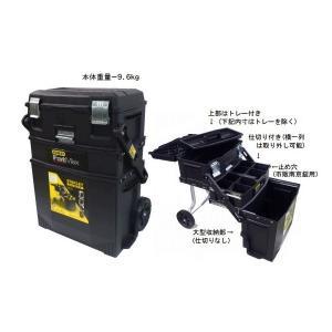 便利もん+ 020800R 4in1 モバイルワークステーション V942101 工具箱 BOX True Value トゥルーバリュー STANLEY WORKS スタンレー|kanajin