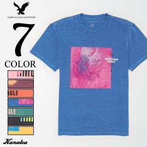 アメリカンイーグル Tシャツ 半袖 メンズ グラフィック アメカジ AE Graphic T-Shi...
