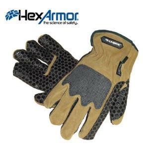 ヘックスアーマー 手袋 スチールレザー2 LD036D|kanamono1