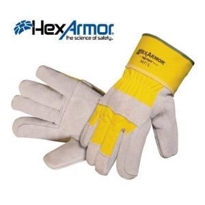 ヘックスアーマー 手袋 スチールレザー7 5037|kanamono1