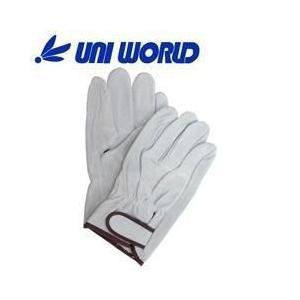 皮製手袋 牛床革手 マジック ユニワールド 821|kanamono1