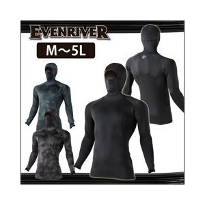 M〜3L EVENRIVER イーブンリバー 秋冬インナー ヒートボディフーデッド GTH-36|kanamono1