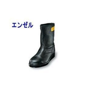 長靴 安全靴 レインブーツ レインシューズ 防水 雨靴 梅雨対策 エンゼル 絶縁耐熱半長靴 AT311|kanamono1