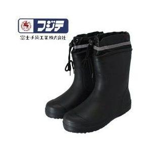 長靴 レインブーツ レインシューズ 防水 雨靴 梅雨対策 富士手袋工業 ショートかるなが カバー付 6251|kanamono1