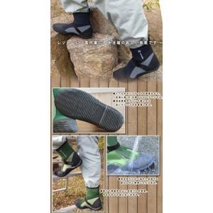 あすつく 長靴 レインブーツ レインシューズ 防水 雨靴 梅雨対策 アトム グリーンマスターライト 2622|kanamono1|02