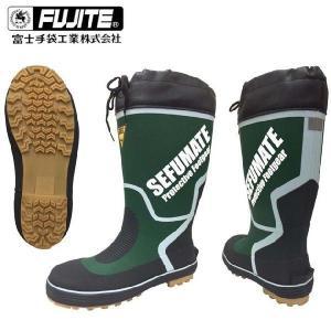 長靴 安全長靴 レインブーツ レインシューズ 防水 雨靴 梅雨対策 富士手袋工業 FJT セフメイトカラーブーツ 鉄芯入り 793|kanamono1