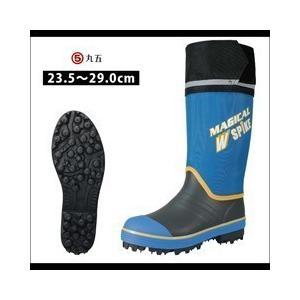 長靴 スパイク レインブーツ レインシューズ 防水 雨靴 梅雨対策 丸五 マジカルスパイク U960 女性サイズ対応 小さいサイズ|kanamono1