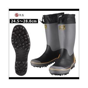 長靴 スパイク レインブーツ レインシューズ 防水 雨靴 梅雨対策 丸五 プロレインスパイク M-31|kanamono1