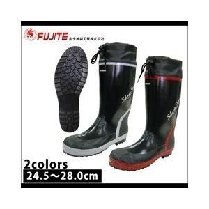 長靴 レインブーツ レインシューズ 防水 雨靴 梅雨対策 富士手袋工業 セフメイトストロングセフティーブーツ 3458|kanamono1
